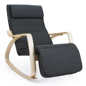 silla mecedora SONGMICS LYY10G barata precio ofertas