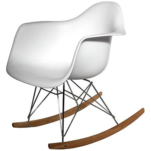 Mecedora moderna ikea silla sillón butaca mecedora de madera de lactancia de bebé blanca antigua moderna de jardín barata económica de segunda mano, eames, mejor oferta precio