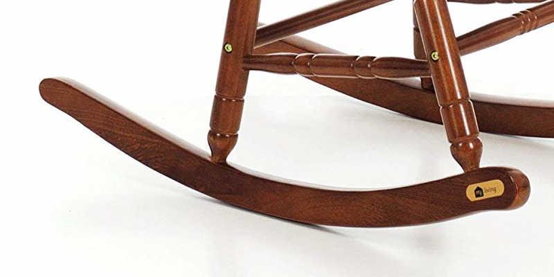 Balancín de las patas de mecedora de madera barato baratos