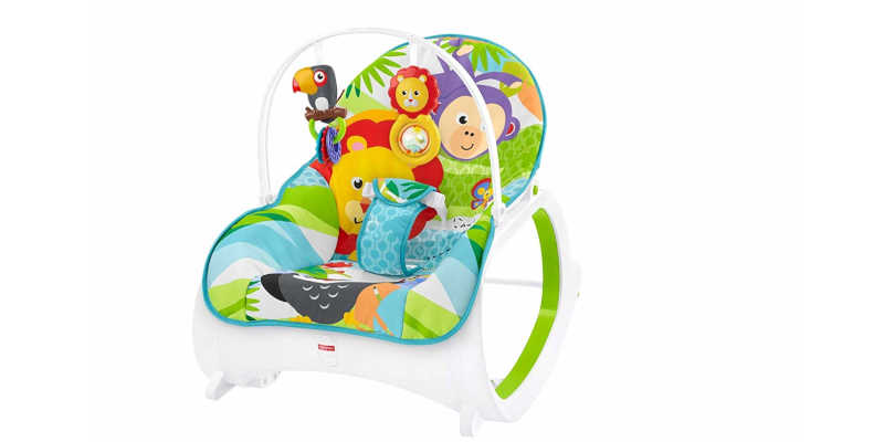Hamaca mecedora Fisher Price Safari