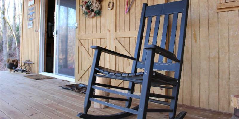 Mecedora clásica de madera wallapop, milanuncios