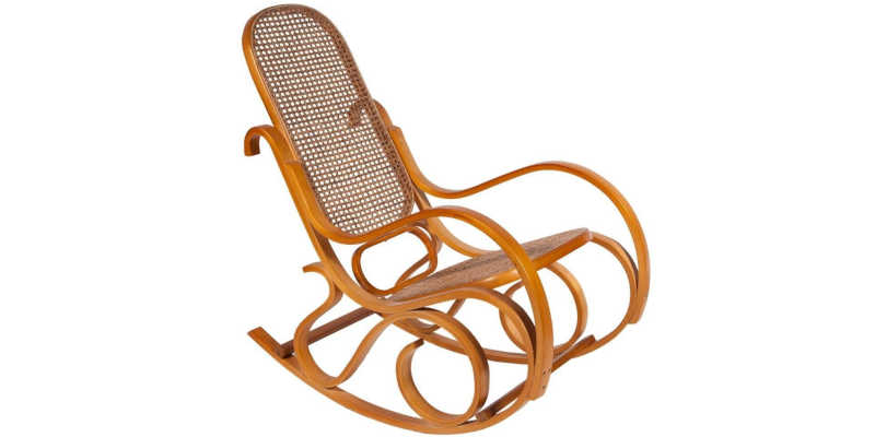 Mecedora antigua Thonet